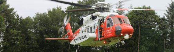 Irish Coast Guard Helicopter Visit