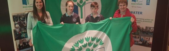 Green-School Travel Flag