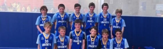 Boys win Basketball league