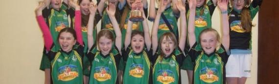 Girls  Indoor Camogie Champions