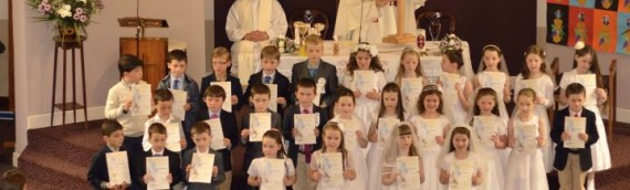 Lisnagry First Holy Communion 2014