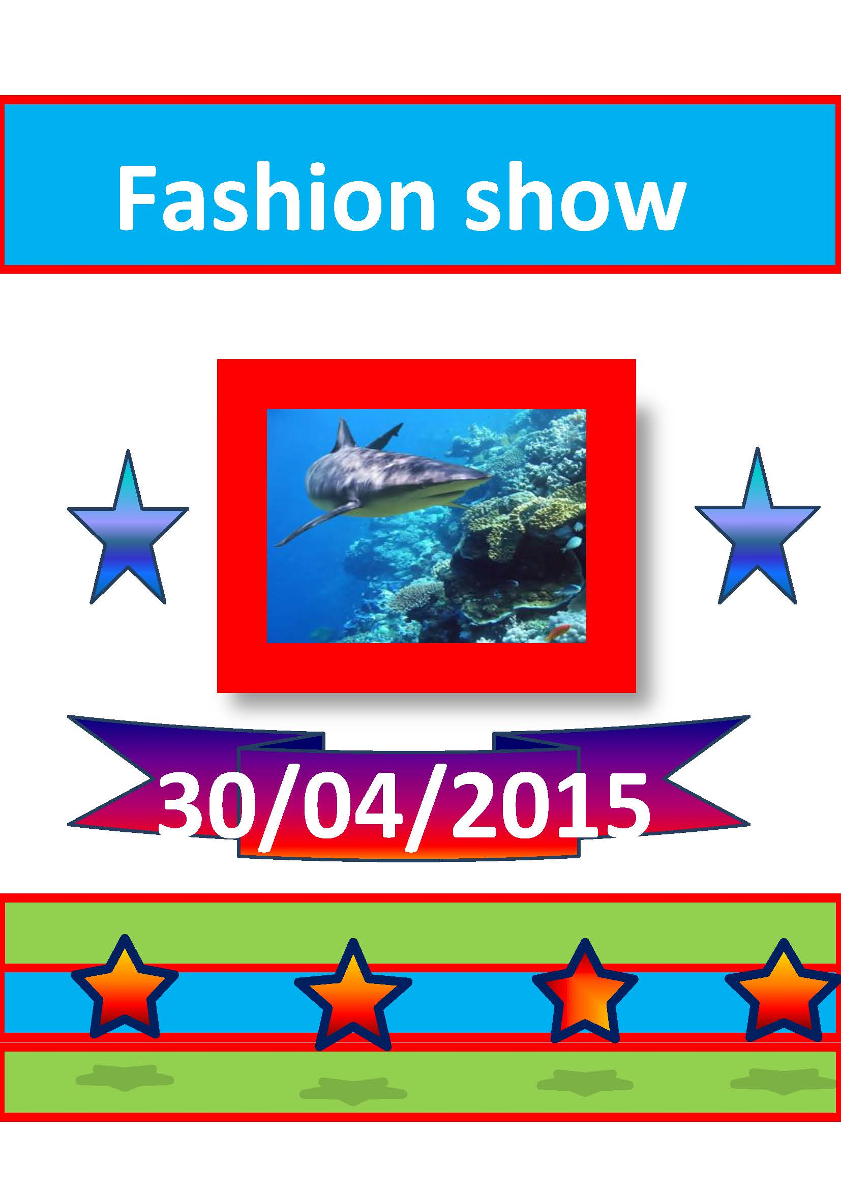 Fashion-Show-by-Orlaithe Leave Application Form Word on