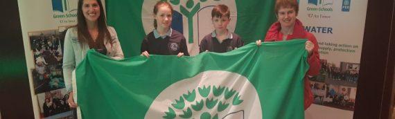 Green-School Travel Flag