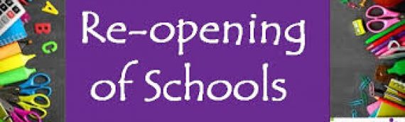 SCHOOL REOPENING AND COVID-19 RESPONSE PLAN