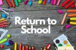 Return to school Plan March 2021.